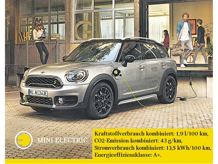 MINI Countryman Plug-In Hybrid |