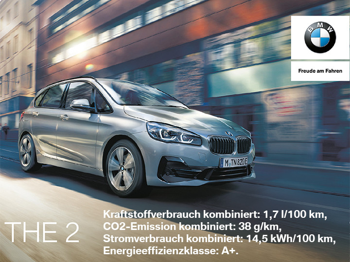 BMW 2er Active Tourer Plug-In Hybrid |