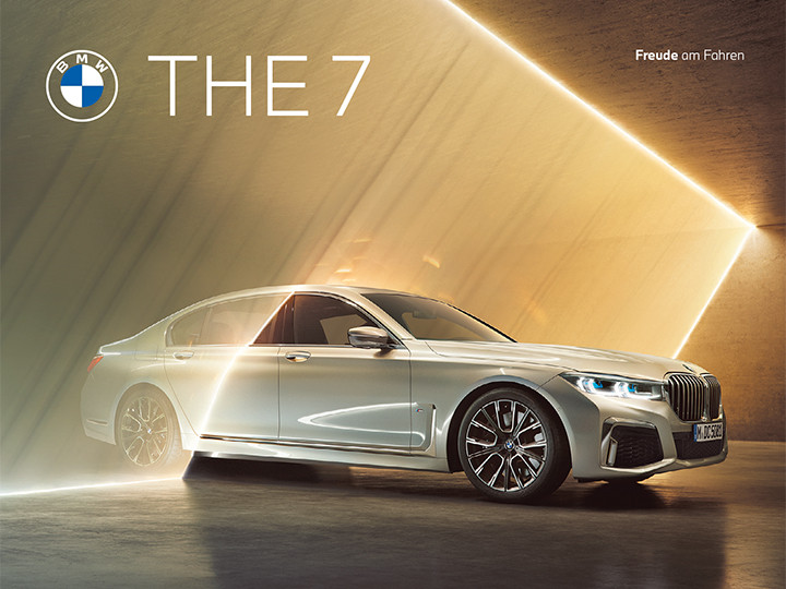 THE 7. Der BMW 7er. |